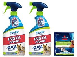 Bissell Woolite Instaclean pet stain remover