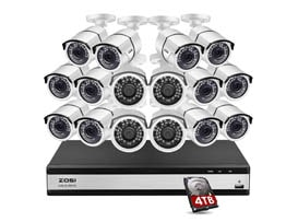 ZOSI H.265 16 Channel Security Camera System