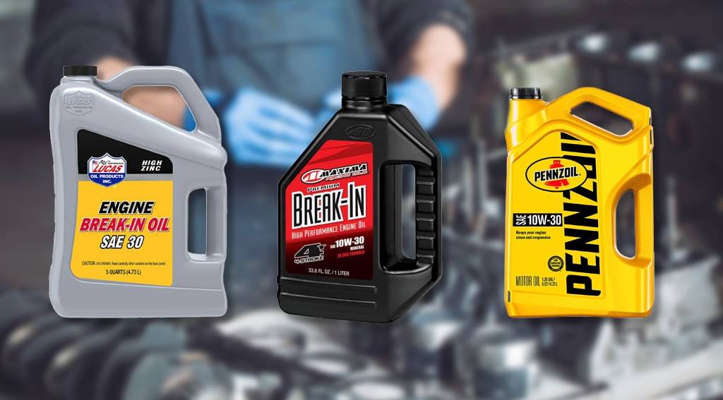 Best Break-In Oil For Rebuilt Engine