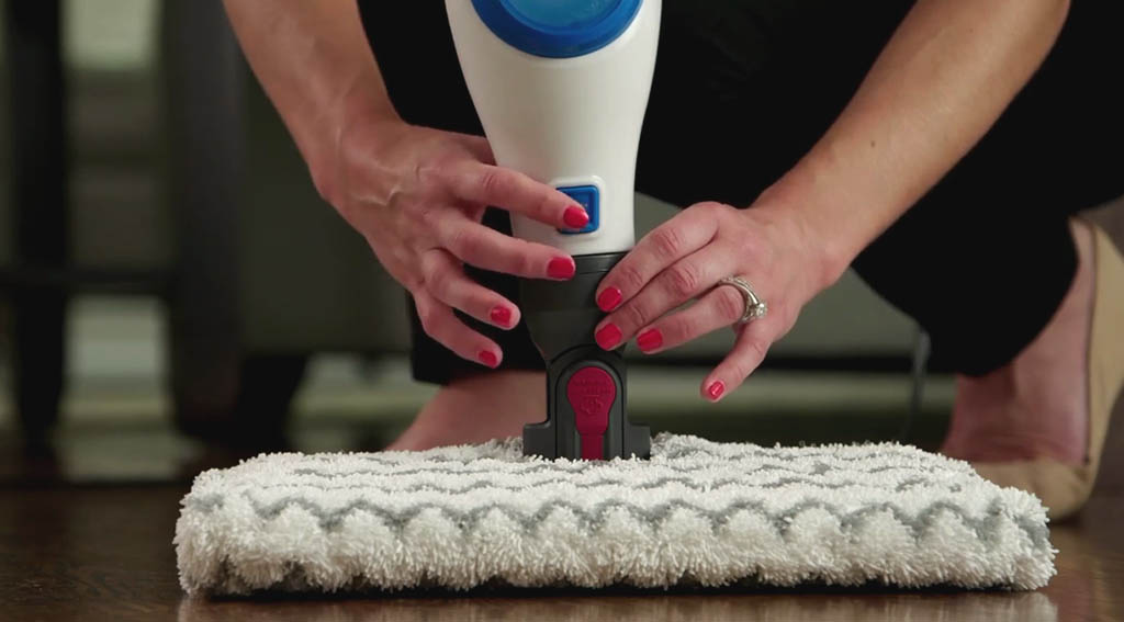 Cleaning Shark Steam Mop Nozzle